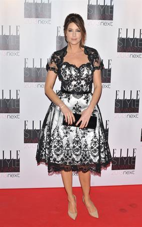 Lisa Snowdon ELLE Style Awards, London, Feb 11, 2013