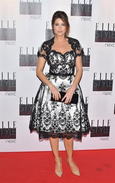 Lisa Snowdon ELLE Style Awards, London, Feb 11, 2013