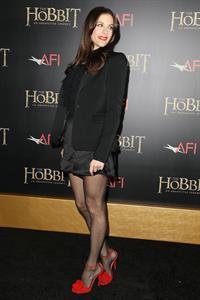 Liv Tyler  The Hobbit  Premiere at the Ziegfeld Theatre New York December 5, 2012