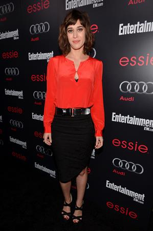 Lizzy Caplan The Entertainment Weekly Pre-SAG Party, Jan 26, 2013