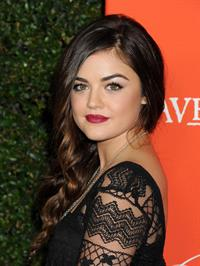"""Lucy Hale """"Pretty Little Liars"""" Halloween Episode screening in Hollywood, October 15, 2013"""