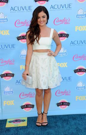 Lucy Hale 2013 Teen Choice Awards Universal City California August 11, 2013