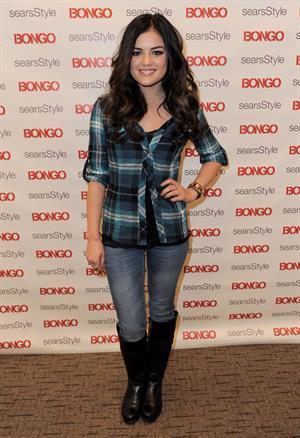 Lucy Hale Bongo Karaoke Party in Costa Mesa CA 11/10/12