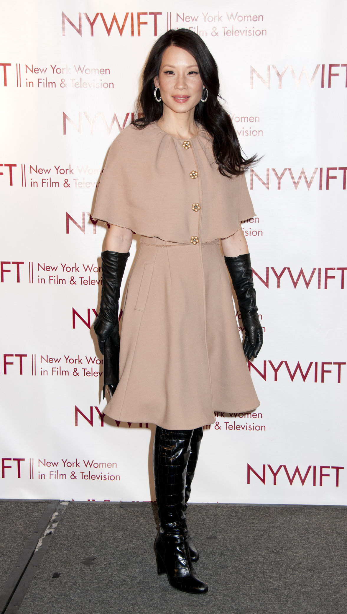 Lucy Liu NY Woman in Film and TV Muse Awards on December 13, 2012