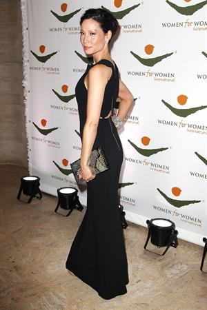Lucy Liu Women for Women International Gala in NY 11/8/12