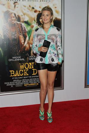 Maggie Grace  Won't Back Down premiere in New York - September 23, 2012