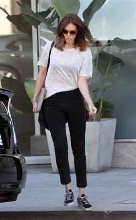 Mandy Moore Bungalow Salon in West Hollywood 10/17/12