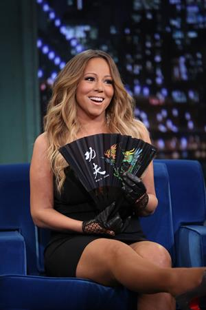 Mariah Carey  Late Night With Jimmy Fallon  - Season 5 -- Nov. 12, 2013