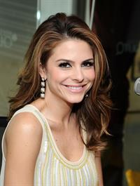 Maria Menounos at SiriusXM Studios in NY 3/8/13