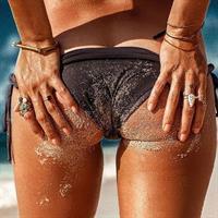 Alyssa Arce in a bikini - ass
