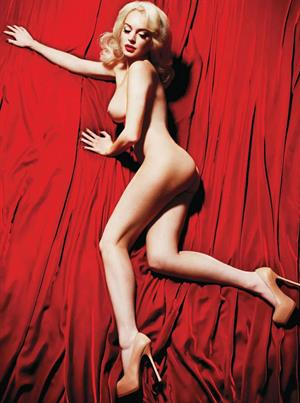 Lindsay Lohan Nude for Playboy February 2012