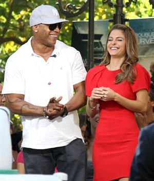 Maria Menounos at The Grove for filming October 2, 2012