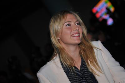 Maria Sharapova 2013 Roland Garros Women's And Men's Singles Draw in Paris May 24, 2013