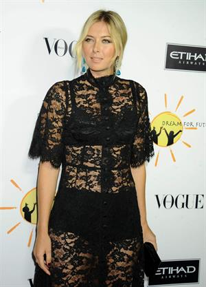 Maria Sharapova Dream For Future Africa Foundation Gala October 24, 2013