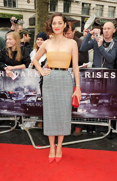 Marion Cotillard -  The Dark Knight Rises  European Premiere in London (July 18, 2012)