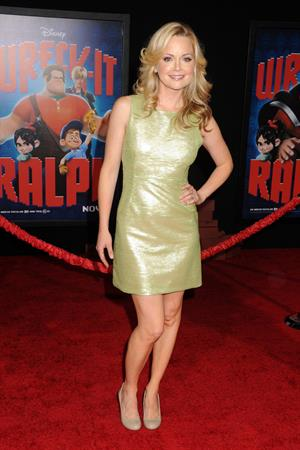Marisa Coughlan Wreck it Ralph premiere in Hollywood 10/29/12