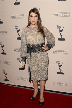 Mayim Bialik - The Academy of Television Arts & Sciences Reception - LA on August 20, 2012