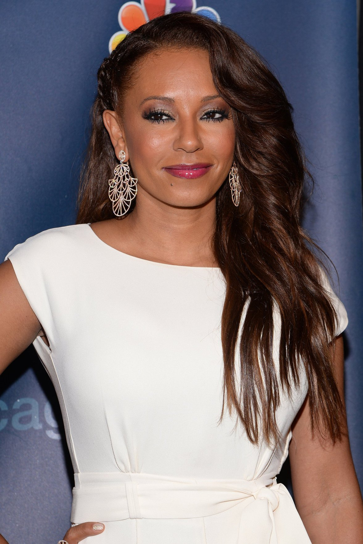 Melanie Brown Americas Got Talent Post Show Red Carpet At Radio City Music Hall In -8077