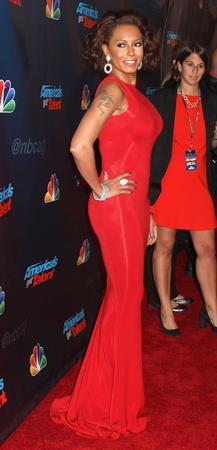 Melanie Brown  America's Got Talent  Season 8 Pre-Show Red Carpet Event - New York, Sep. 17, 2013