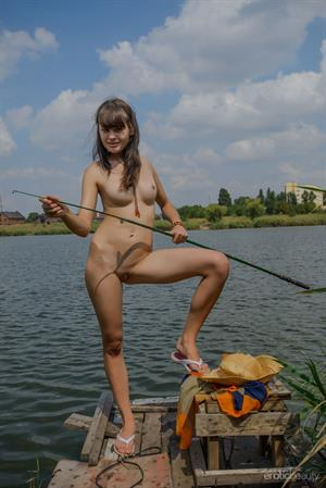 Black MO in  Gone Fishing  for Erotic Beauty