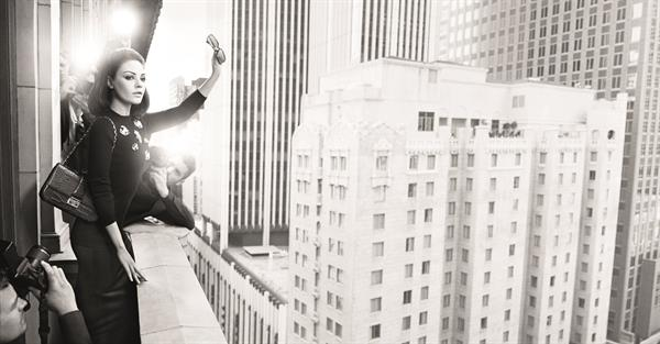 Mila Kunis - Dior Photoshoot & Ads
