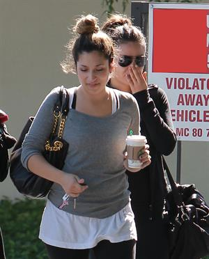 Mila Kunis leaving exercise class in West Hollywood 10/23/12