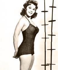 Sherry Jackson in a bikini