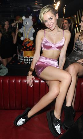 "Miley Cyrus – ""Bangerz"" release party, NYC 10/8/13"
