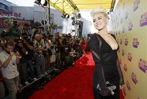 Miley Cyrus - MTV Music Awards Staples Center in Los Angeles Sept 6, 2012