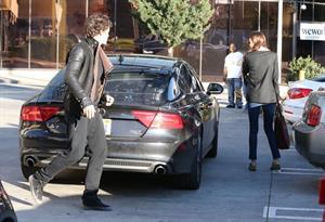 Miranda kerr outside a spa in LA on January 4th 2013
