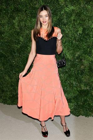 Miranda Kerr 9th Annual CFDA/Vogue Fashion Fund Awards (November 13, 2012)