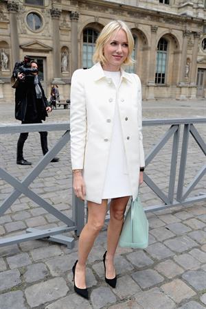 Naomi Watts Louis Vuitton F/W fashion show in Paris 3/6/13