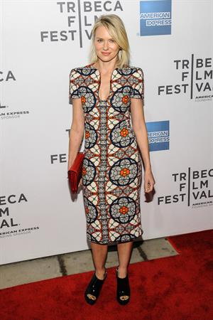 Naomi Watts  Sunlight Jr.  screening at Tribeca Film Festival -- New York, Apr. 20, 2013