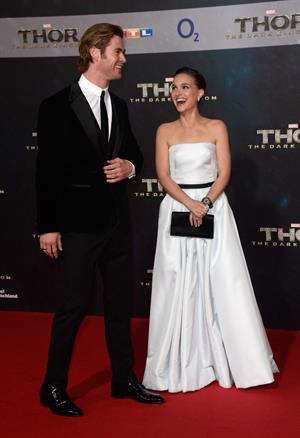 Natalie Portman  Thor: The Dark World  Premiere in Berlin 10/27/2013