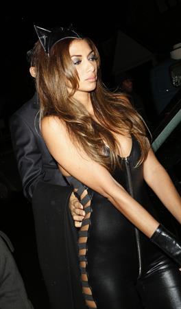 Nicole Scherzinger : Jonathan Ross Halloween Party 10/31/13