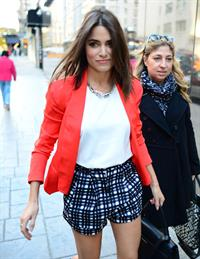 "Nikki Reed – ""Good Day New York"" candids in NY 11/4/13"