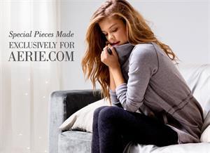 Nina Agdal Aerie: Bra Undie Guide (October 2013)