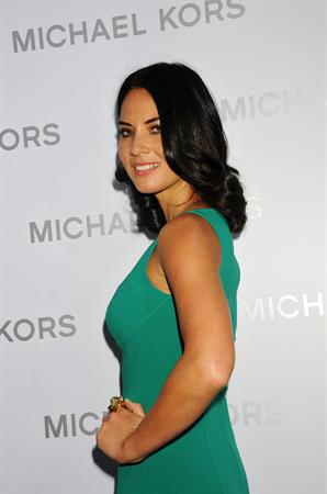 Olivia Munn Michael Kors - Spring 2013 Mercedes-Benz Fashion Week, September 12, 2012
