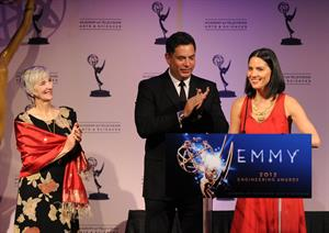 Olivia Munn 64th Primetime Emmy Engineering Awards, October 24, 2012