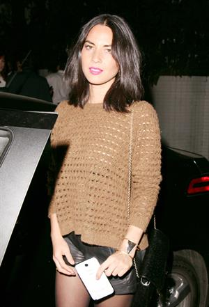 Olivia Munn at the Chateau Marmont in Hollywood 5/4/13