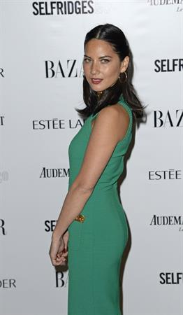 Olivia Munn Harper's Bazaar Women of the Year Awards in London, November 5, 2013