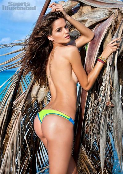 Izabel Goulart in a bikini - ass