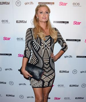 Paris Hilton attends the Star Magazine's 'Hollywood Rocks' Party Penthouse Hollywood LA on April 4, 2013