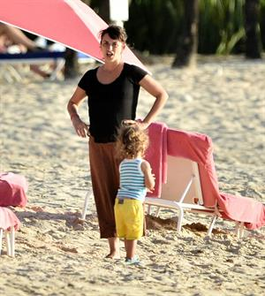 Penelope Cruz holidaying in Barbados 3/13/13