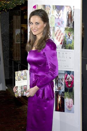 Pippa Middleton Promotes her Book:A Year of Festivities for Family & Friends Bookstore in Harlem 11.12.12