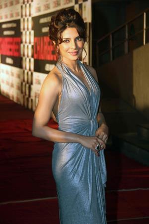 Priyanka Chopra - Charge Sheet Premiere at Cinemax in Mumbai on September 29, 2011