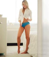 Katrina Bowden in lingerie
