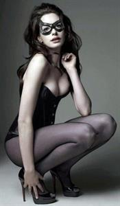 Anne Hathaway in lingerie