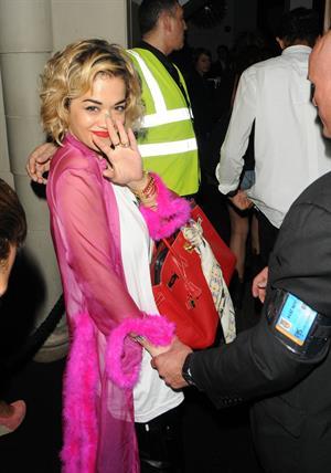 Rita Ora at DSTRKT Club in London on August 10, 2012