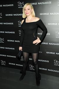Rose McGowan Charity Meets Fashion Holiday Celebration in New York December 17, 2012